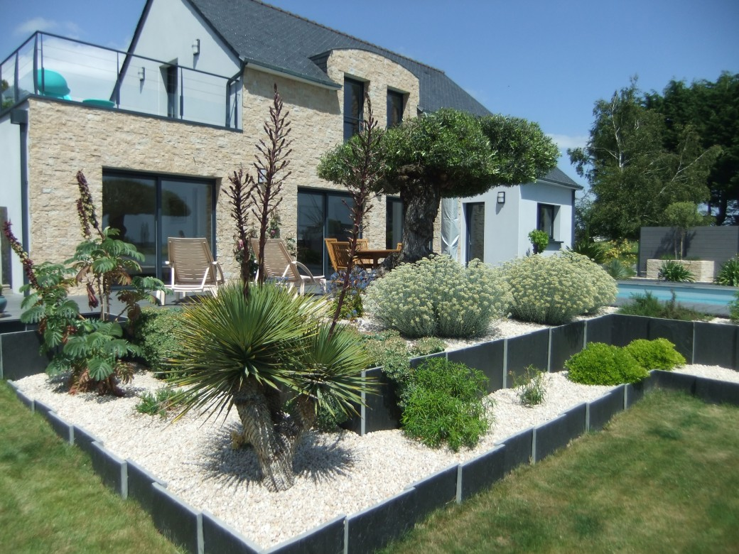 Deco jardin mediterraneen for Amenagement jardin